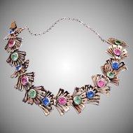 Ralph De Rosa Sterling Crystal Bracelet - Rare