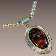 Navajo Robert Noreen Kelly Pendant Necklace