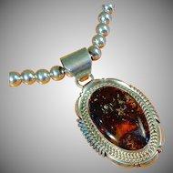 Navajo Robert Noreen Kelly Pendant Necklace