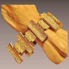 Fabulous Vintage Napier Wide Bracelet