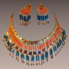 Vintage Egyptian Revival Set - Art Deco era