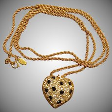 Beautiful Joan Rivers Locket Necklace