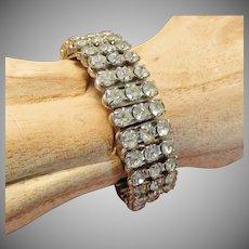 Bright Vintage Rhinestone Expansion Bracelet