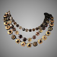 Fabulous JL Blin Paris Necklace Artisan Vintage 1990's