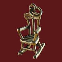 Artisan Ella Cone Rocking Chair Charm or Pendant