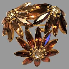 Gorgeous Schoffel & Co. Dimensional Brooch