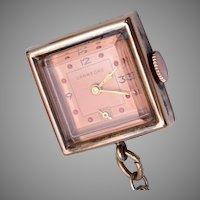 Crawford Pendant Gold Filled Watch Still Runs!