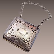 Small Silver Toned Purse