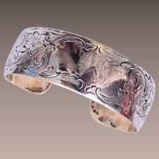 S. Kirk & Son Sterling Bracelet 1800's