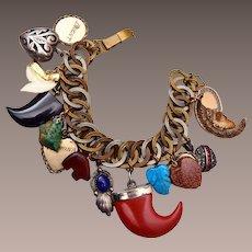 Mixed  Charm Vintage Bracelet