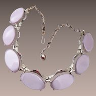 Light Purple Thermoset Necklace