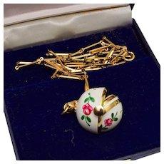 Bucherer Ball Watch Necklace in Original Box