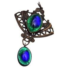 Peacock Eye Pendant