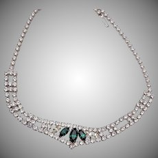 Eisenberg Ice Rhinestone Necklace
