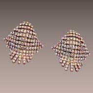 AB Rhinestone Shoe Clips