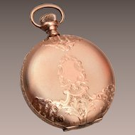 Gold Filled Watch Case - Locket - Beautiful!