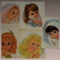 Vintage 1960 Northern Paper Pastel Prints