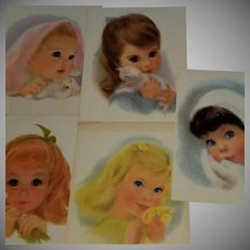 Vintage 1960 Northern Paper Pastel Prints