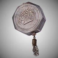 Silver Pill Box Pendant