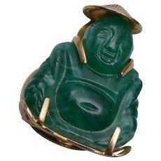 Plastic Buddha Scarf Clip