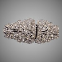 Art Deco Dress Clip Duette