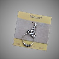 Monet Charm (Amulet) Holder Pendant