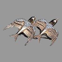 Coro Craft Sterling Bird Duette