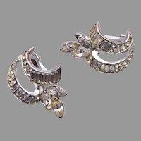 Albion Jewelry Rhinestone Earrings