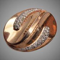 1948 Trifari Fur Clip Brooch Patent 151554