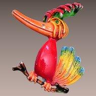 Goofy Bird Brooch
