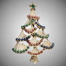 Gerry's Christmas Tree Brooch