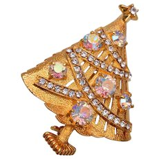 Eisenberg Ice AB Christmas Tree Brooch