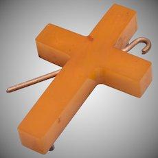 Bakelite Cross and Shepherd's Hook
