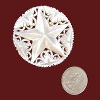 Bethlehem Star – Mother of Pearl Brooch