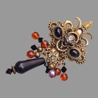 Sorrelli Brooch With Dangles