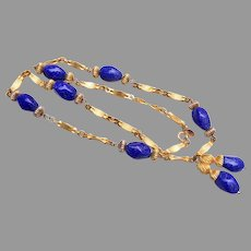 DeLillo Lapis Necklace - Beautiful!