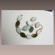 Unsigned Beauty - Green Porcelain 3 Piece Set