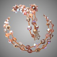 Fabulous 1950's Vendome Crystal Parure