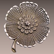 Little Nemo Large Flower Brooch