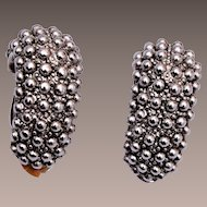 Erwin Pearl Silver Tone Earrings