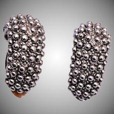 Erwin Pearl Silver Tone Earrings
