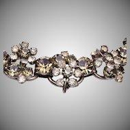 D&E Juliana 5 Link Bracelet in Black Diamond