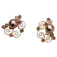 Alice Caviness Rhinestone Earrings