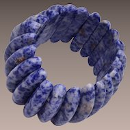 Blue Lapis Stretchy Bracelet