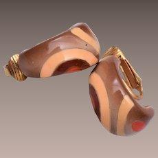 Eisenberg Enamel Earrings