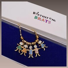 Birthstone Brats Necklace