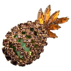 Alice Caviness Pinapple Brooch