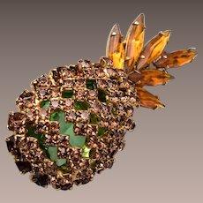 Alice Caviness Pinapple Brooch