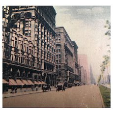Vintage 1900's Postcards of Cities and Landmarks including Chicago Street View