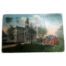 Vintage 1900's Postcards of Schools